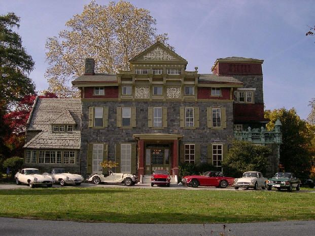 Oakbourne Mansion in Westtown Township
